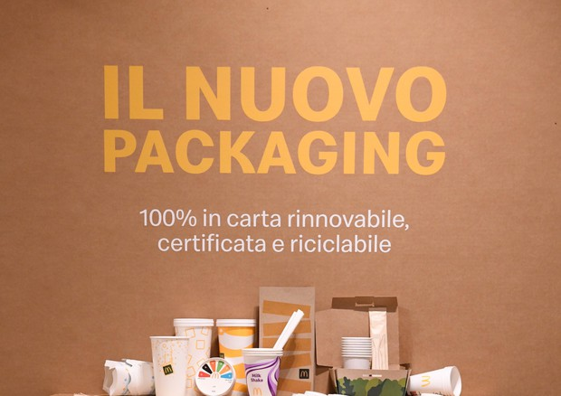 McDonald's Italia: packaging riciclabile al 100%